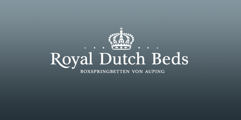 Royal Dutch Beds · Konzeption und Gestaltung